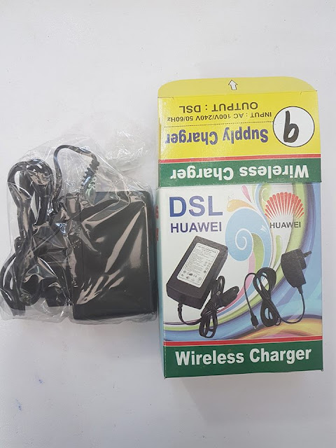 Charger 9V 1 amp
