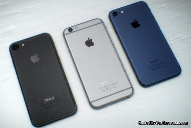 Pilihan warna Apple iPhone 7