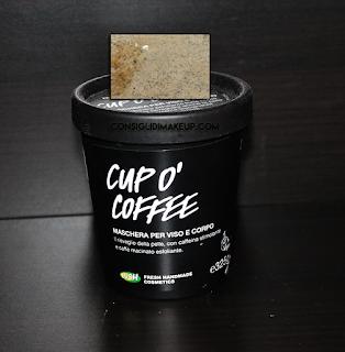 Review: Maschera Viso e Corpo Cup O' Coffee - Lush Cosmetics