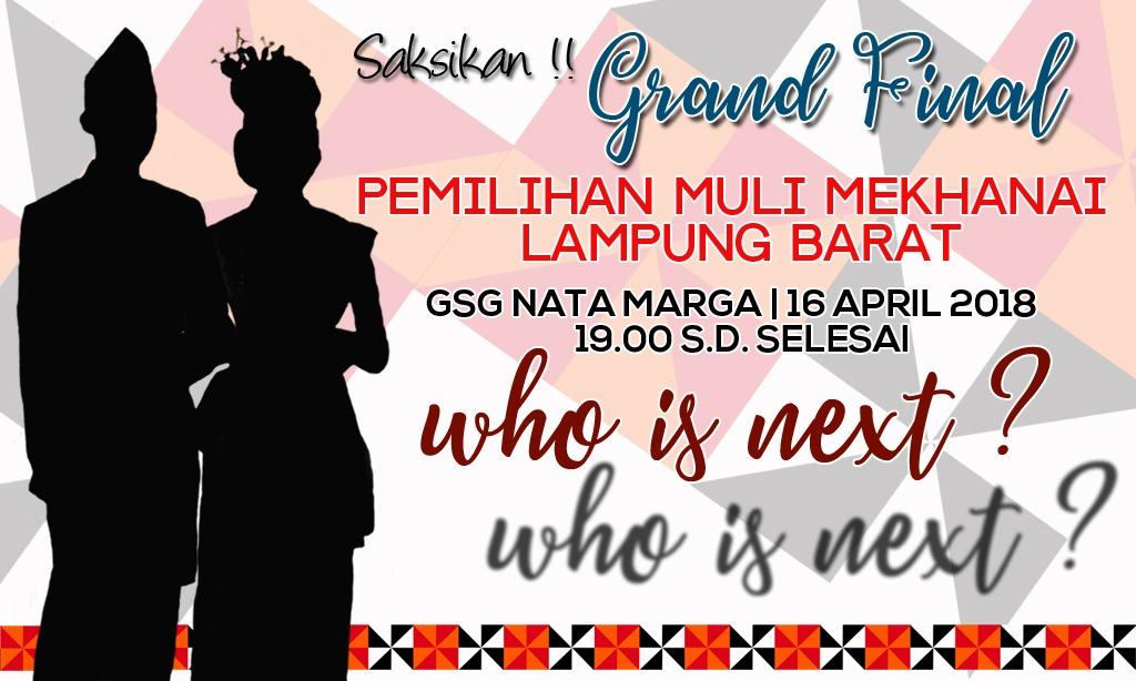 Audisi Muli–Mekhanai Lampung Barat 121 Pendaftar