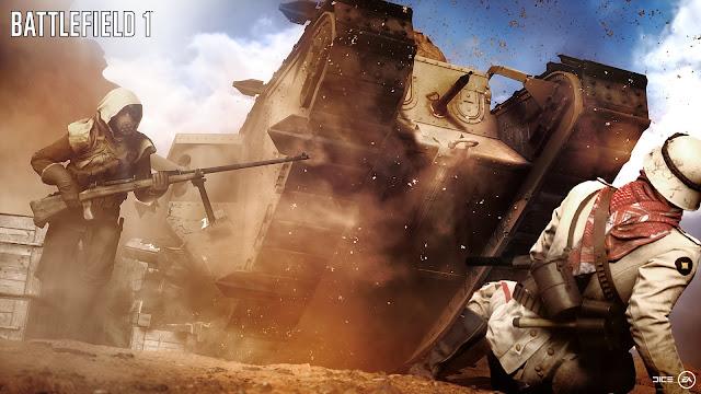 Review – Battlefield 1 tank