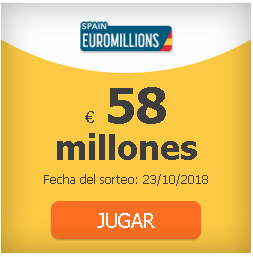 #EuroMillions 58 million and rain of millions: odds, clubs