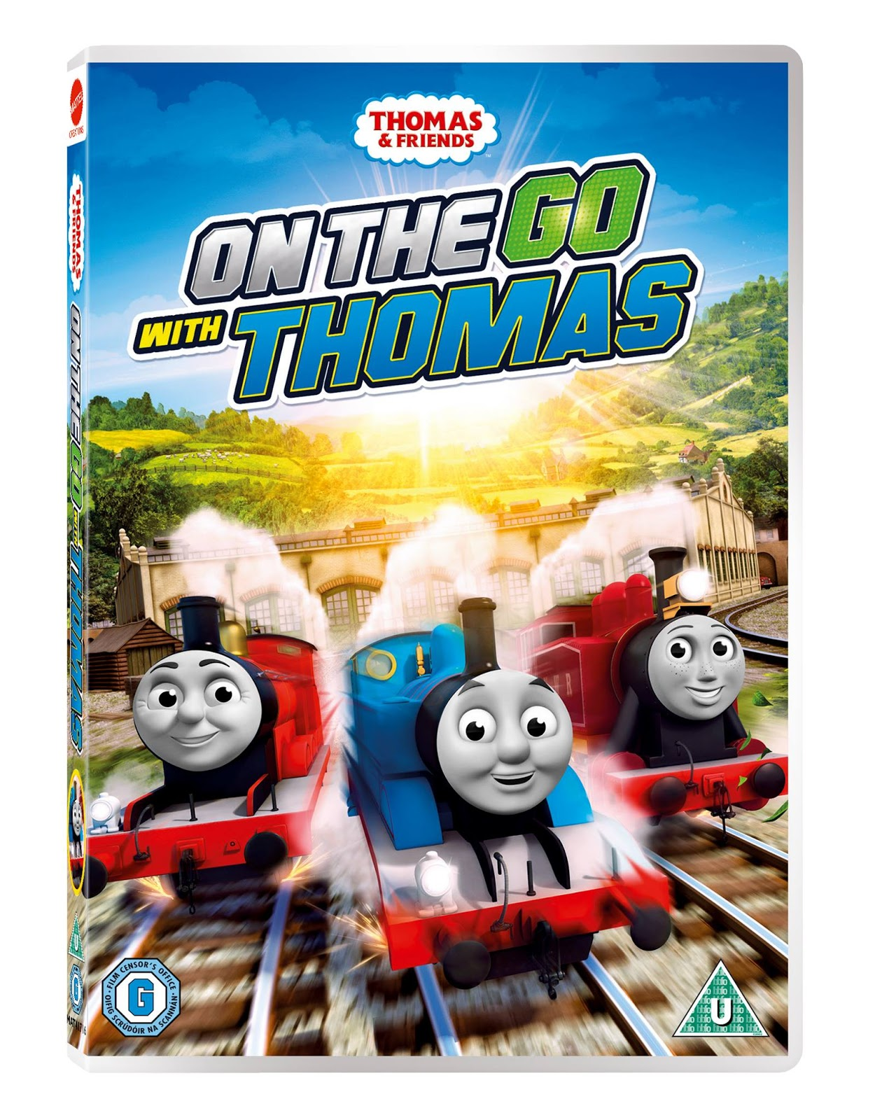 The Thomas And Friends Review Station Dvd Review On The Go With Thomas