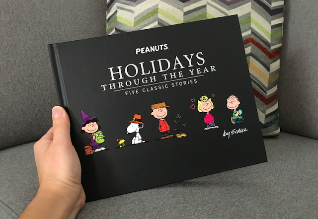 Peanuts Holiday Through the Year Book - #LoveHallmarkCA