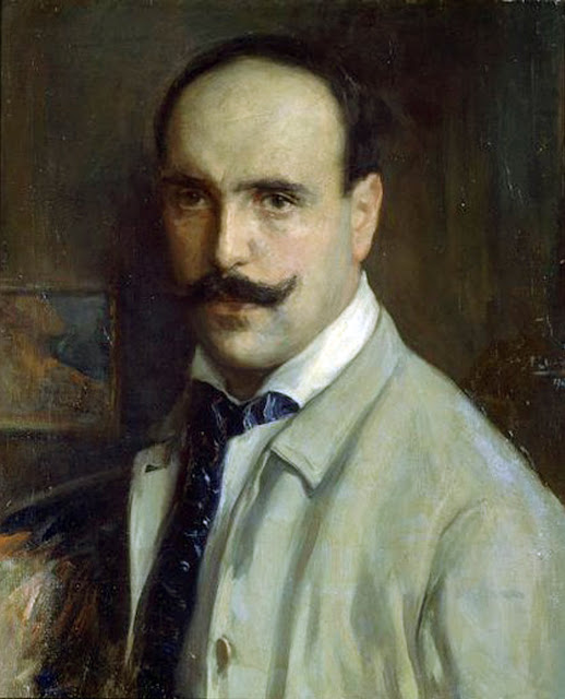 Francisco Llorens Díaz, Self Portrait, Portraits of Painters, Francisco Llorens, Fine arts, Painter Francisco Llorens Díaz