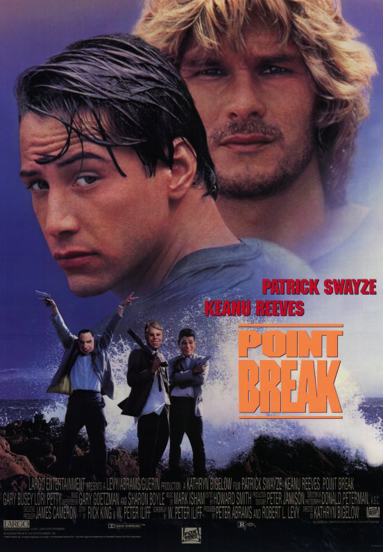 Poster Point Break 1991