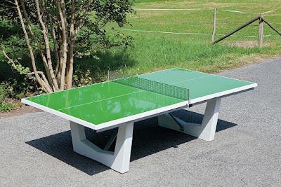 bàn bóng bàn sử dụng ngoài trời