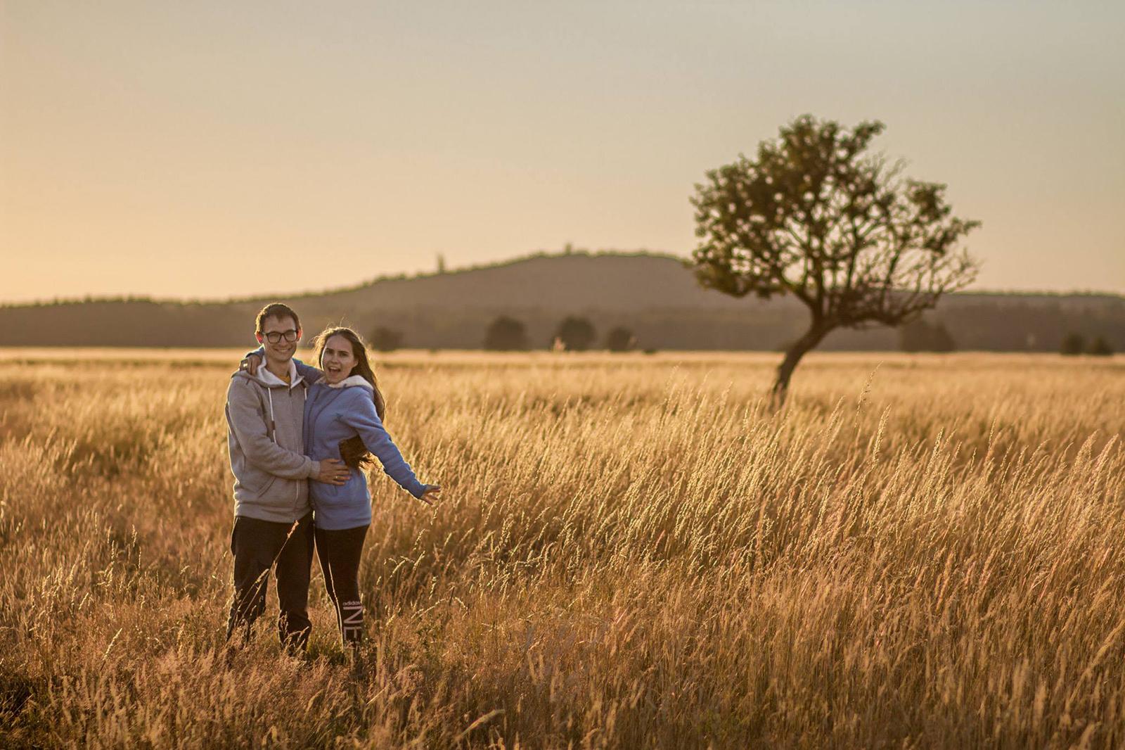 Smołdziński Las | zachód słońca