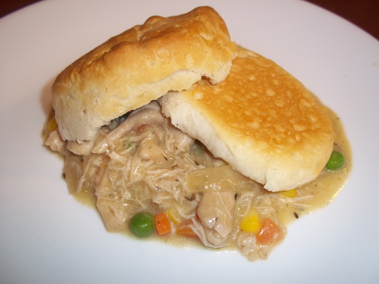 The Daily Smash: Biscuit Chicken Pot Pie (Slow Cooker) - photo#29