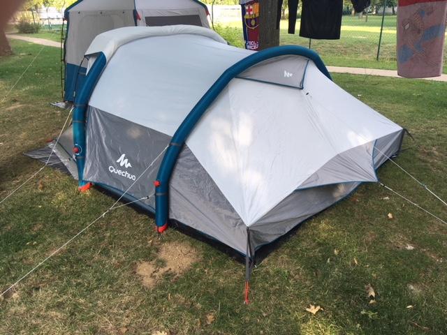 Namiot kempingowy rodzinny 5 osobowy Arpenaz 5.2, Quechua, Decathlon
