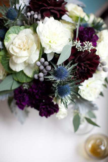 gorgeous fall floral arrangement on Hello Lovely