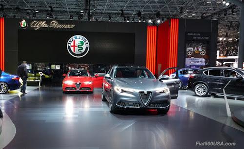 Alfa Romeo at 2017 NY Auto Show