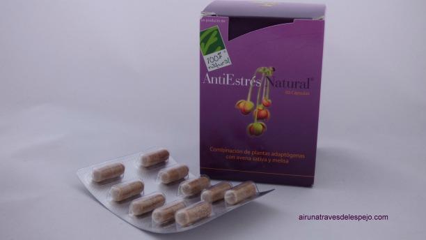 capsulas antiestres natural complemento alimenticio