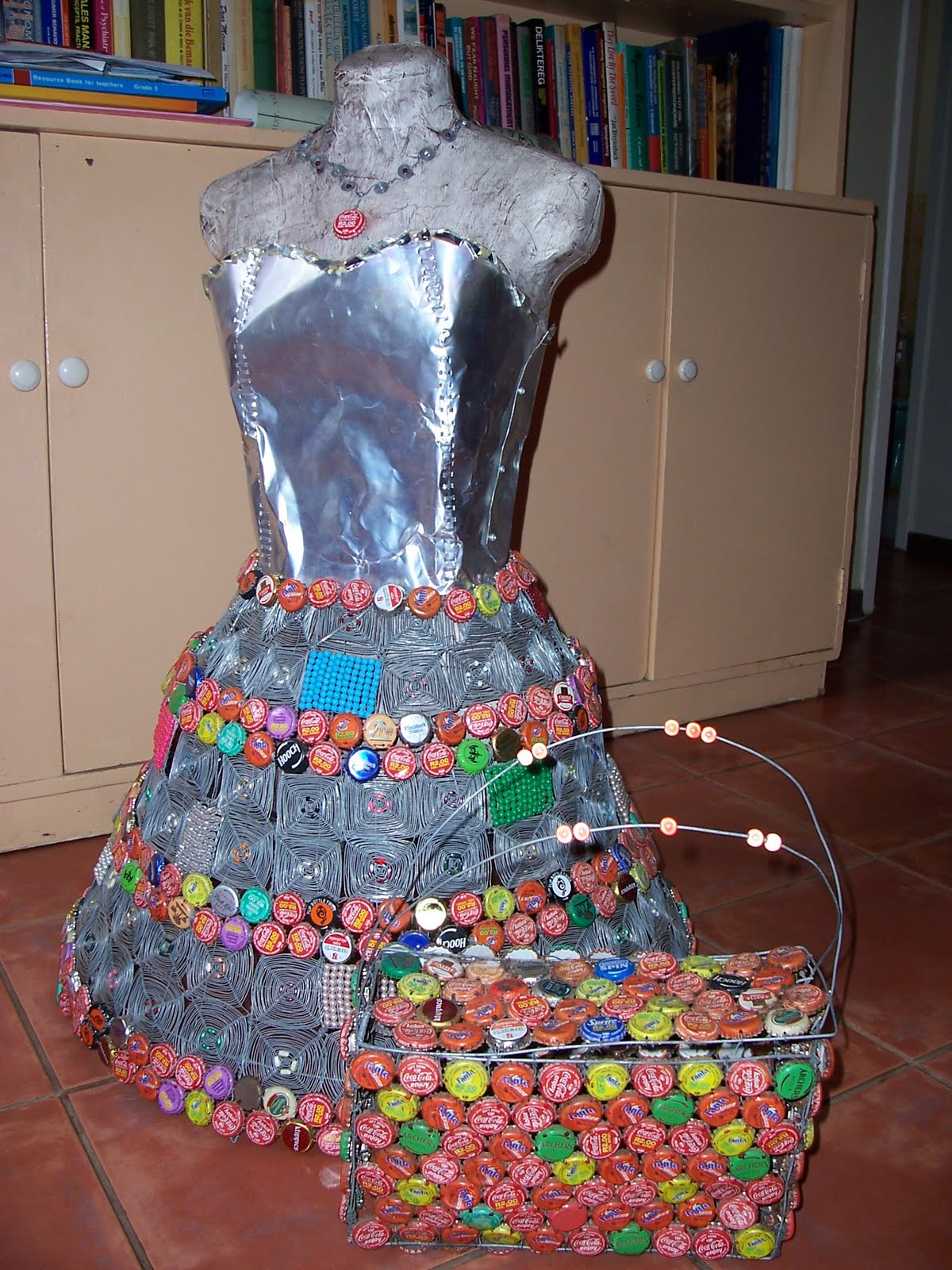 Ophelia's only dreaming: Recycled material dress