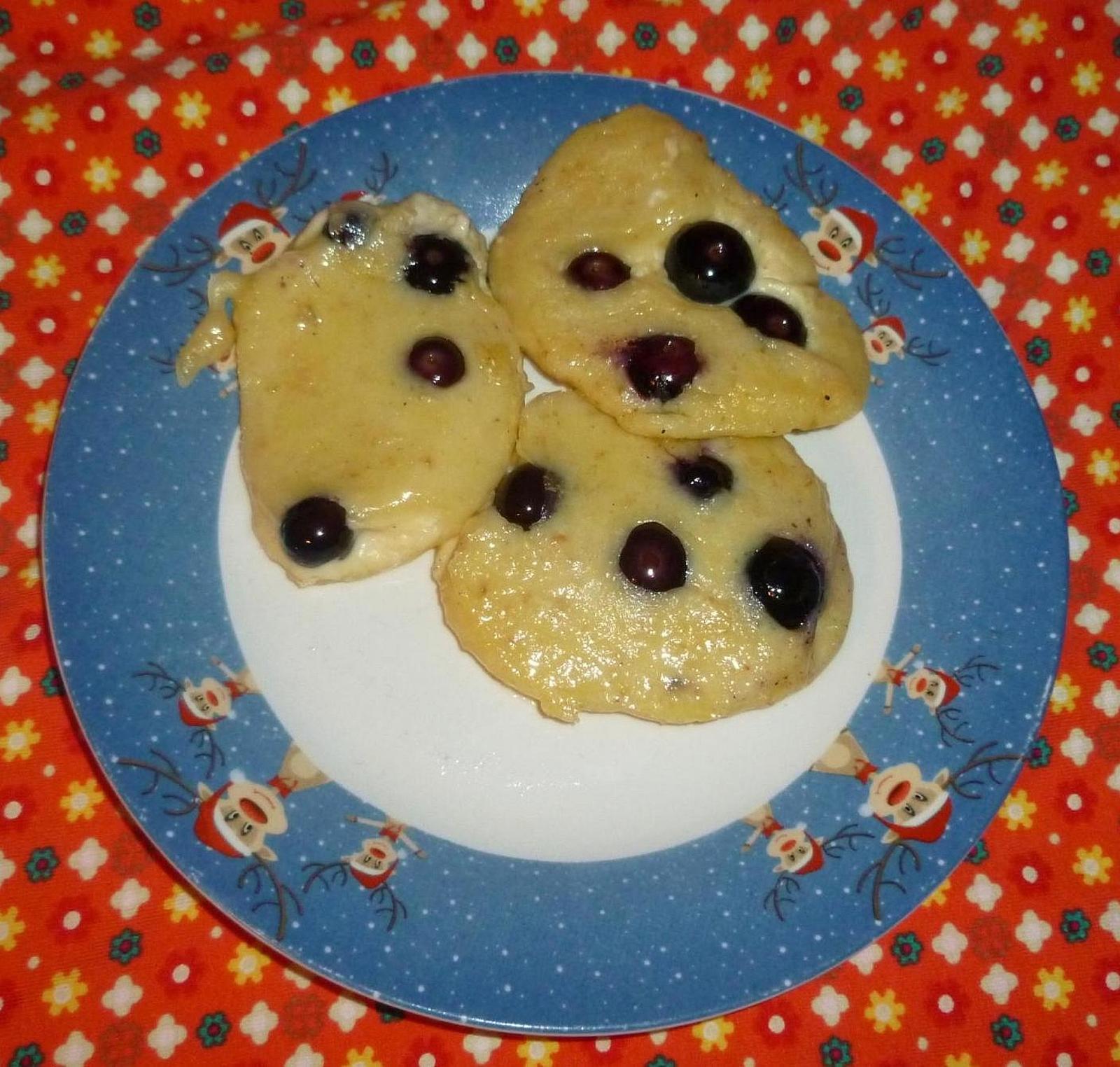 rezeptschachtel pfannkuchen mit heidelbeeren joghurt und haferflocken. Black Bedroom Furniture Sets. Home Design Ideas