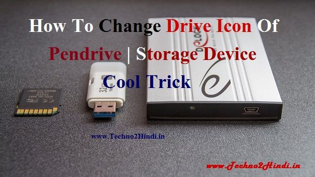 Change icon of pendrive