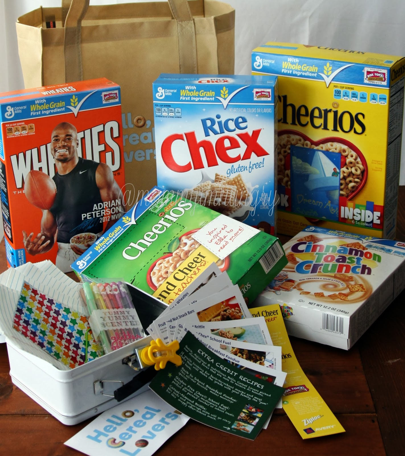 MIH Product Reviews & Giveaways: Hello Cereal Lovers Back