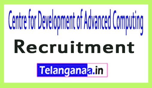 Centre for Development of Advanced Computing CDAC Recruitment