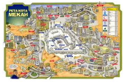 Tiga Kota Bersejarah Yang Dimuliakan Allah, Bagi Umat Islam