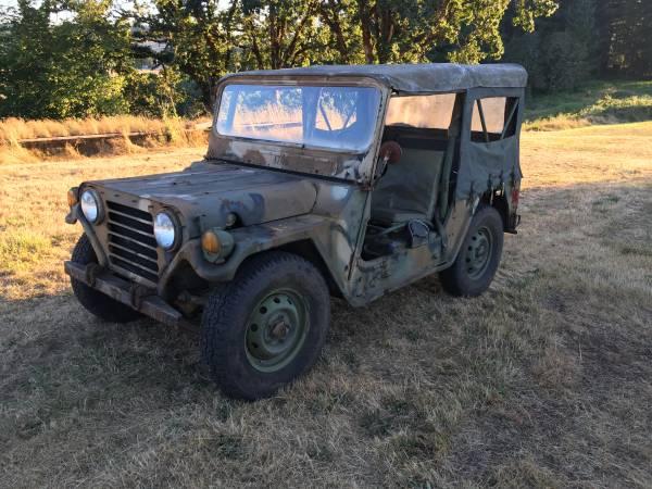 Original M151A2 Military Jeep