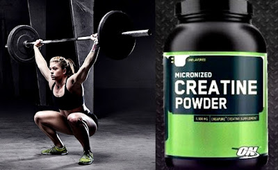 Crossfit mujer creatina ON