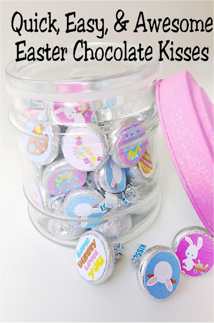 These super cute Easter kiss printables are the perfect addition to your kids' Easter baskets. They are quick, easy, and awesome!