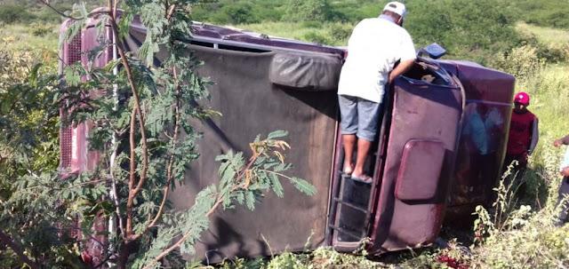 Patos do Piauí-Acidente deixa vítima na zona rural de Patos do Piauí