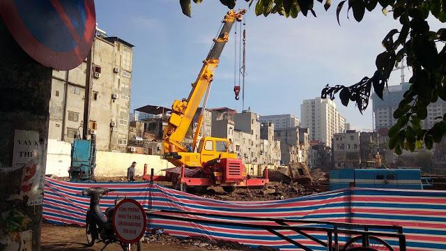 Tiến độ xây dựng dự án chung cư Thống Nhất Complex 82 Nguyễn Tuân