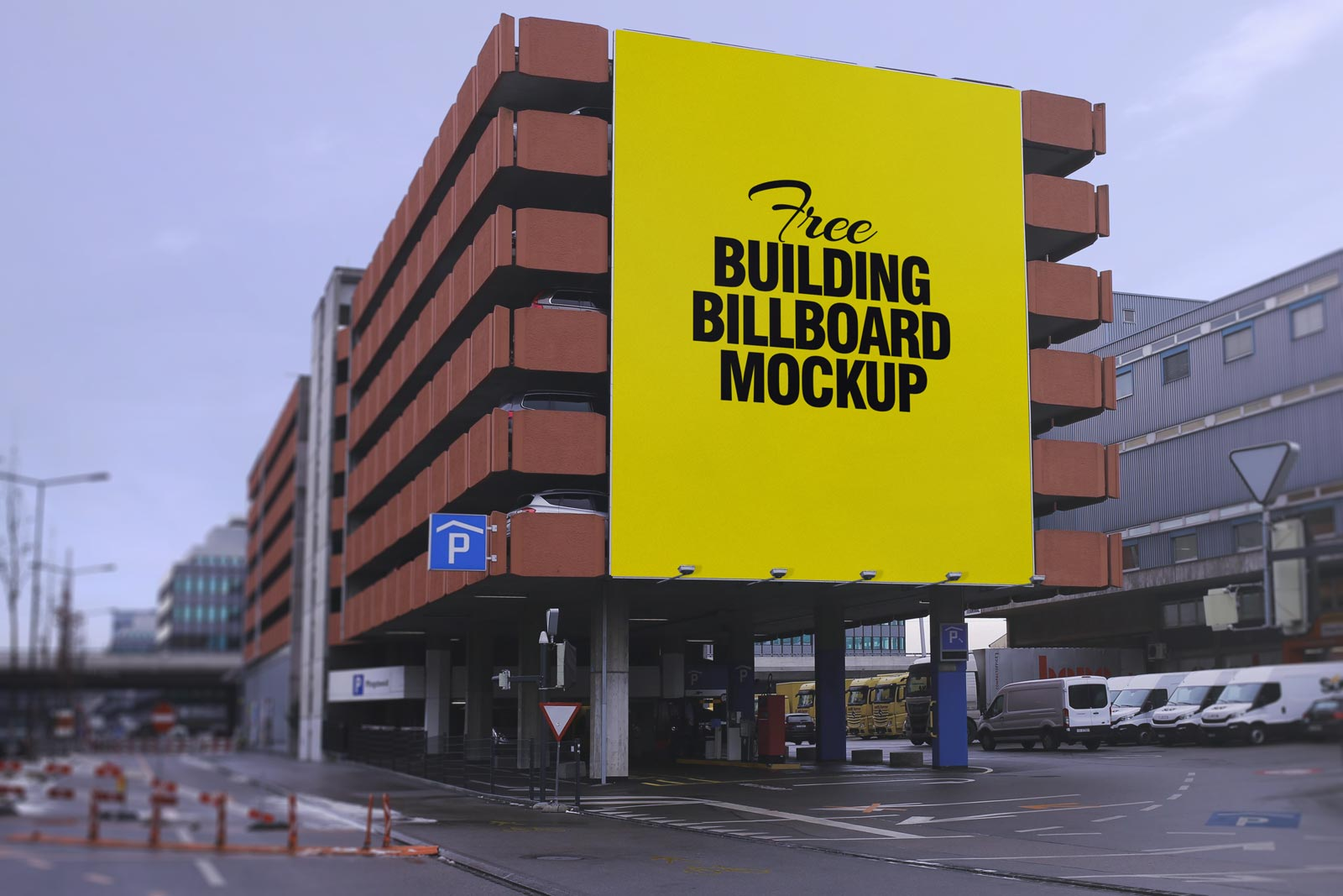 building mockup psd free download