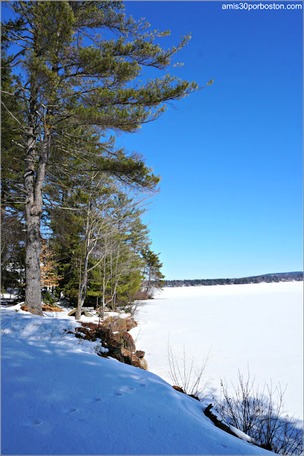 Lago Winnisquam en New Hampshire