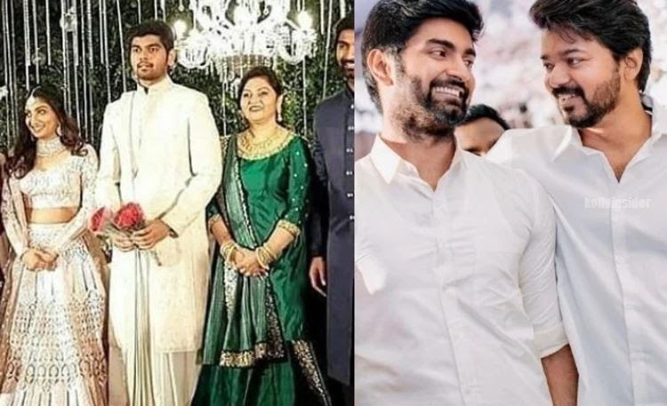Vijay's neice to tie knot with Atharvaa's brother on Aug 24