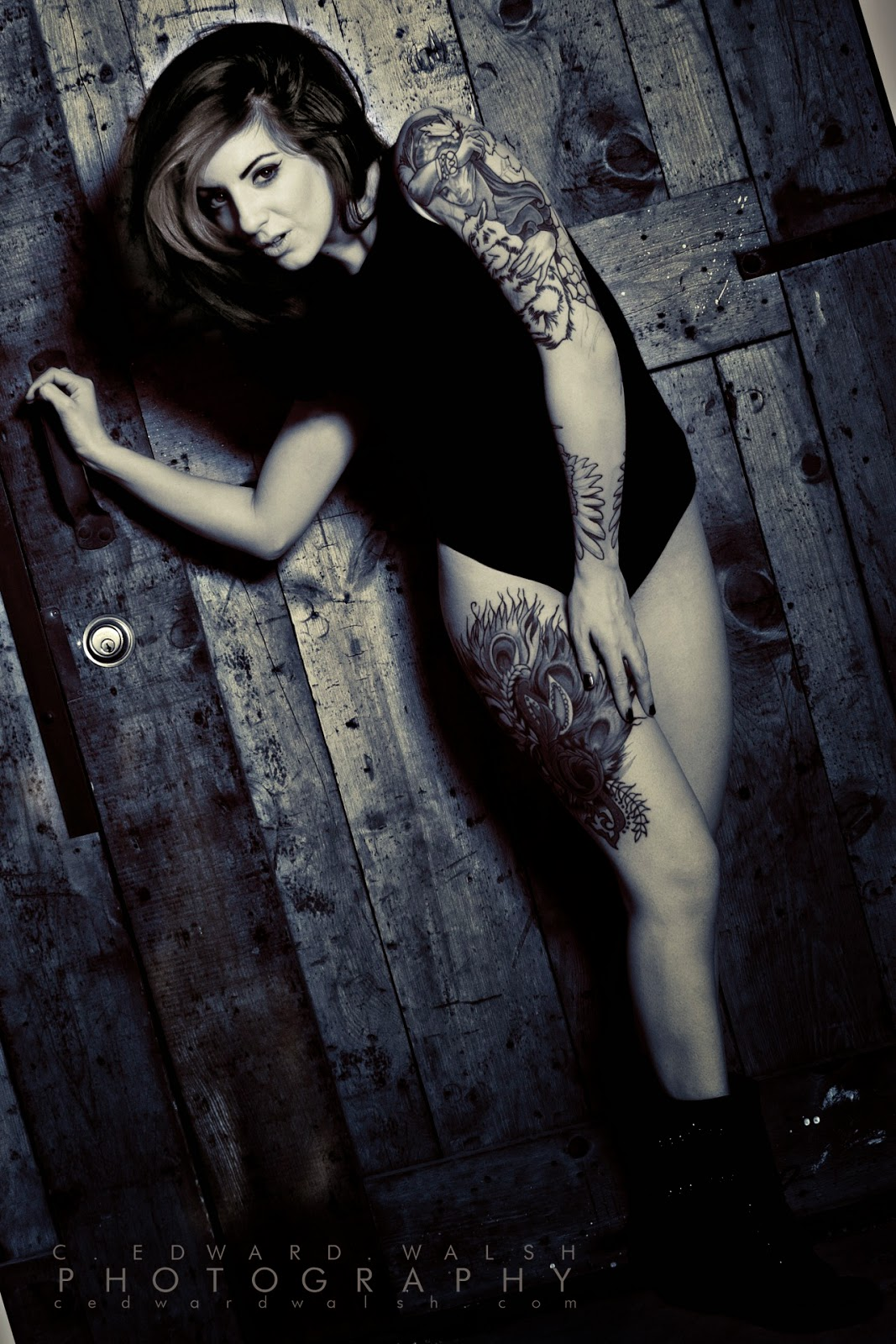Ally Pin Up Ally Joykill Sexy Tattooed Girls