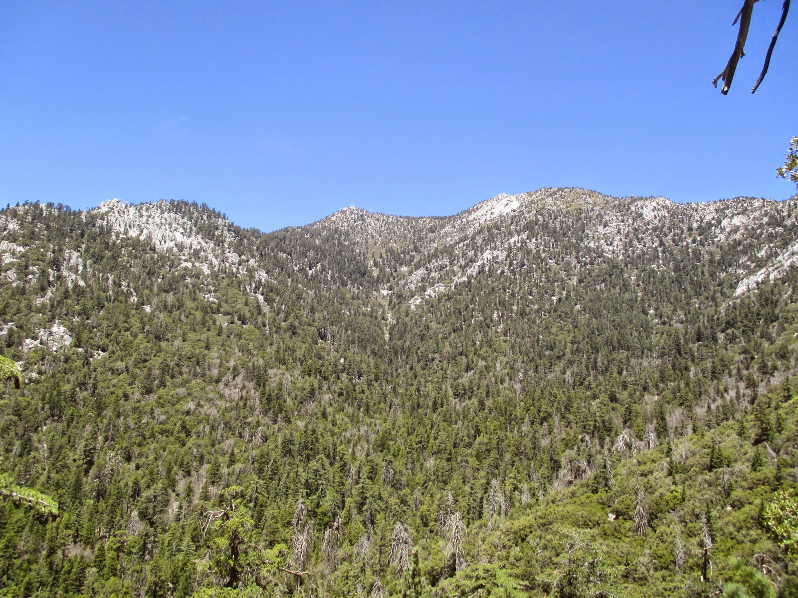 Hiking In Southern California Tahquitz Peak 8 847 From