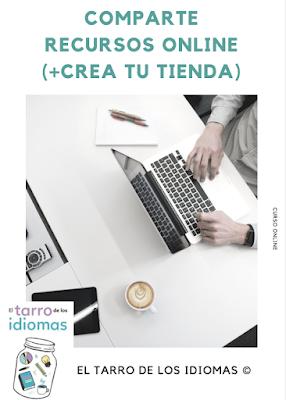 5e2712758b Curso Crea tu tienda online   Comparte materiales - El tarro de los idiomas