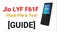 Jio Lyf F61F White Display Fix  Salusions small file