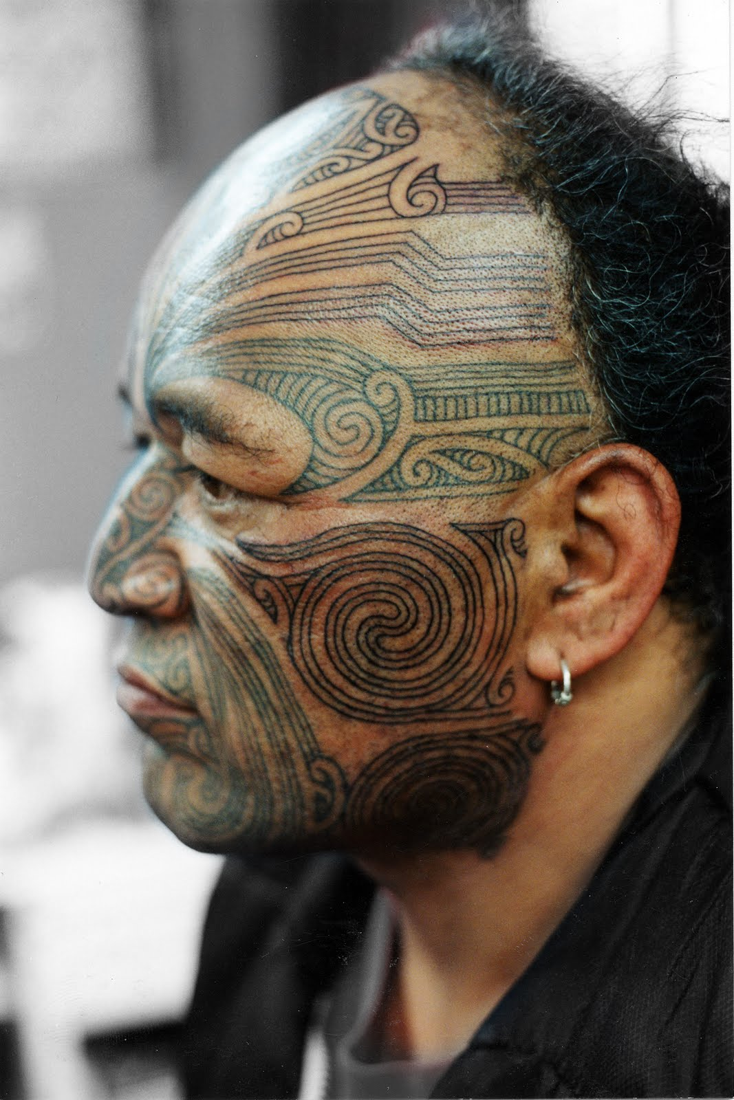 Maori Facial Tattoo: Imogen Smid's Final Illustration Exam Blog: Back To The