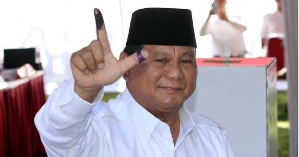 Tak Naik Kuda ke TPS, Ini Alasan Prabowo