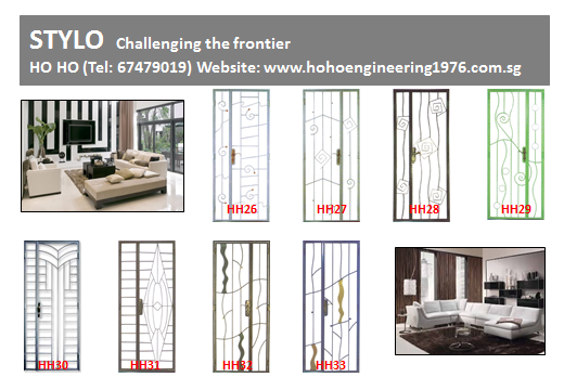 Direct Factory Wrought Iron Gate Grille Window Doors In