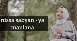 Lirik Lagu Nissa Sabyan Ya Maulana (Wahai Tuhanku)