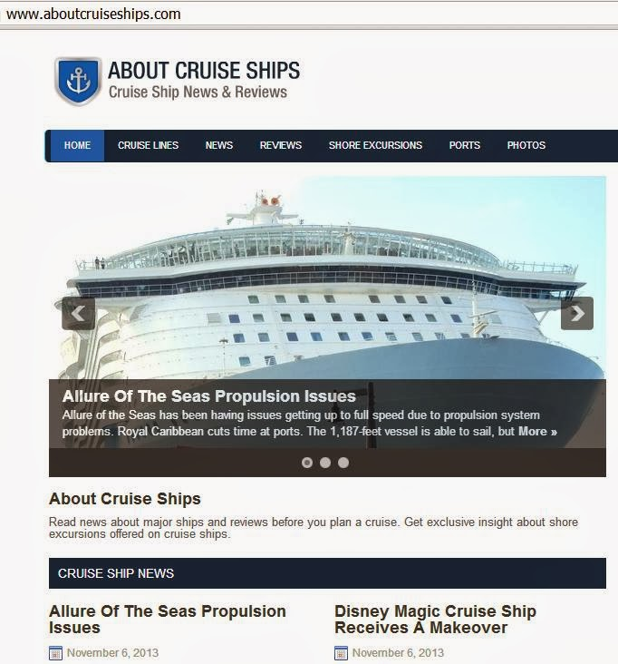 About Cruise Ships