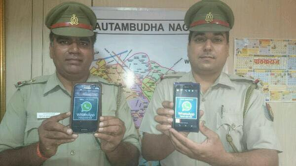 WhatsApp Helpline Number Launched by Noida Trafffic Police