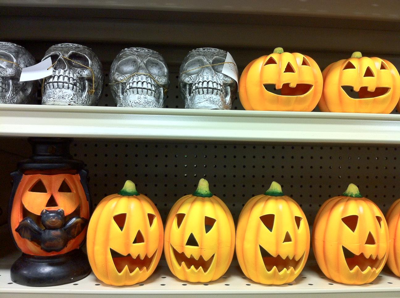 Vintage Halloween Collector: Halloween 2013 at Garden Ridge #1