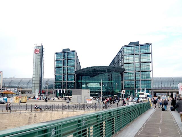Hauptbahnhof central train station, Berlin, Germany
