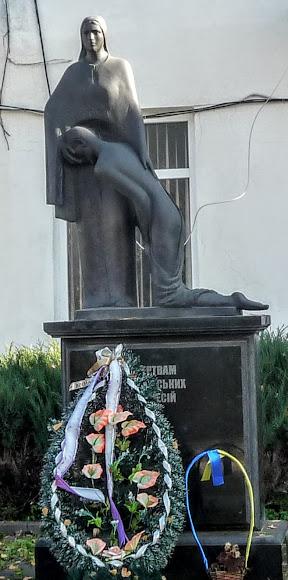 Болехів, Україна. Пам'ятник жертвам сталінських репресій