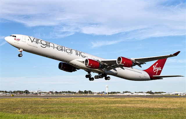 a340-600 virgin atlantic