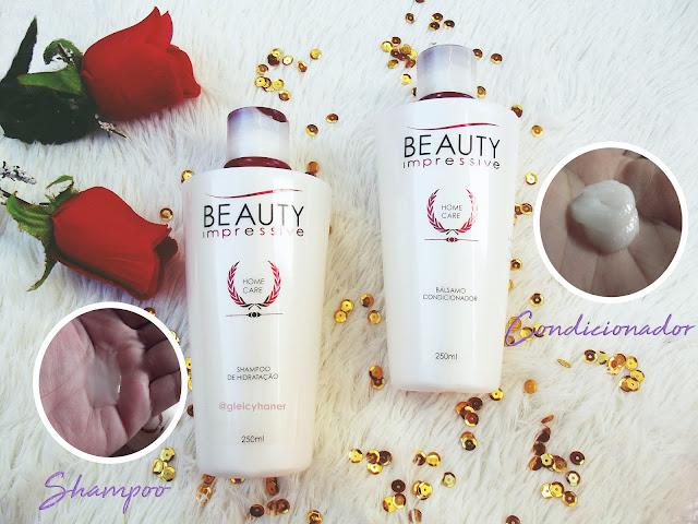 shampoo e condicionador kit manutenção home care beauty impressive