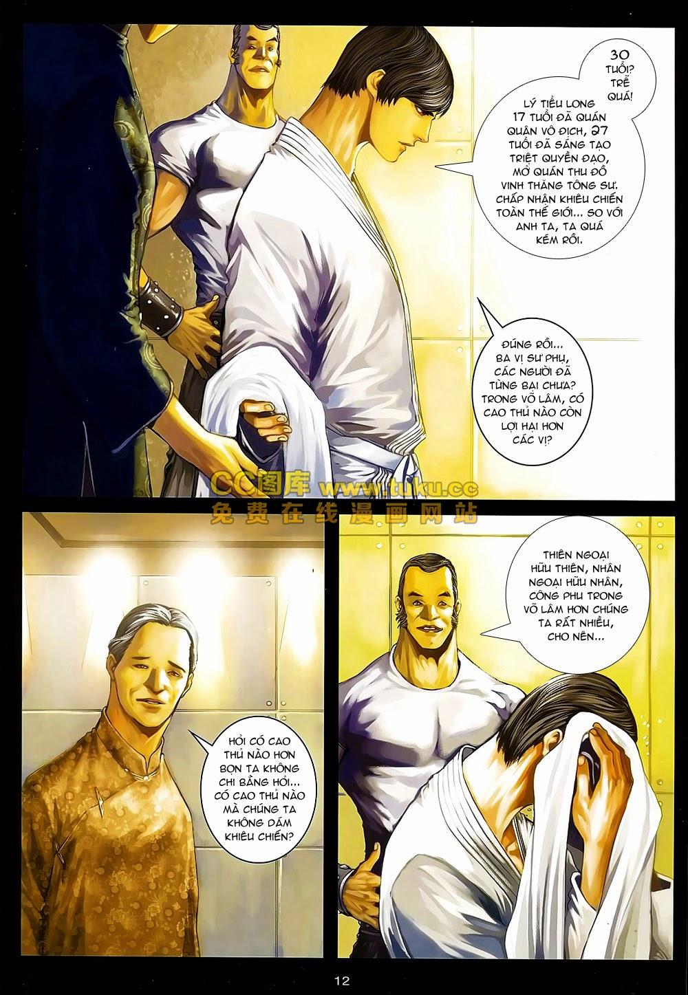 Quyền Đạo chapter 6 trang 12