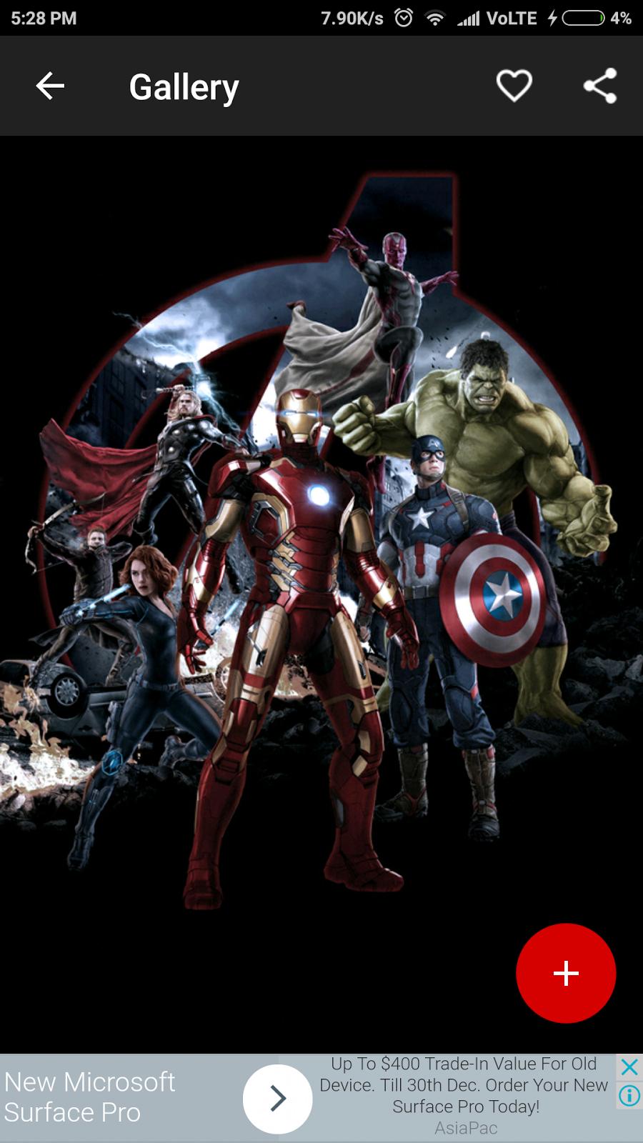 Best wallpaper app 2018-2019 | new marvel superheroes ...