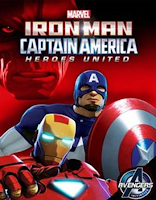 Iron Man and Captain America: Heroes United (2014) online y gratis