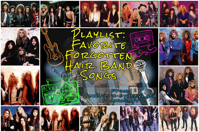 hair bands playlist